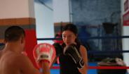 强身搏击教练班学员击靶视频