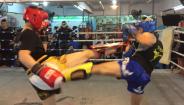 强身搏击专业队-近身组合进攻、内围防御训练