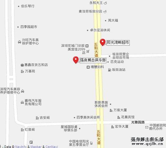 深圳强身搏击俱乐部具体地址
